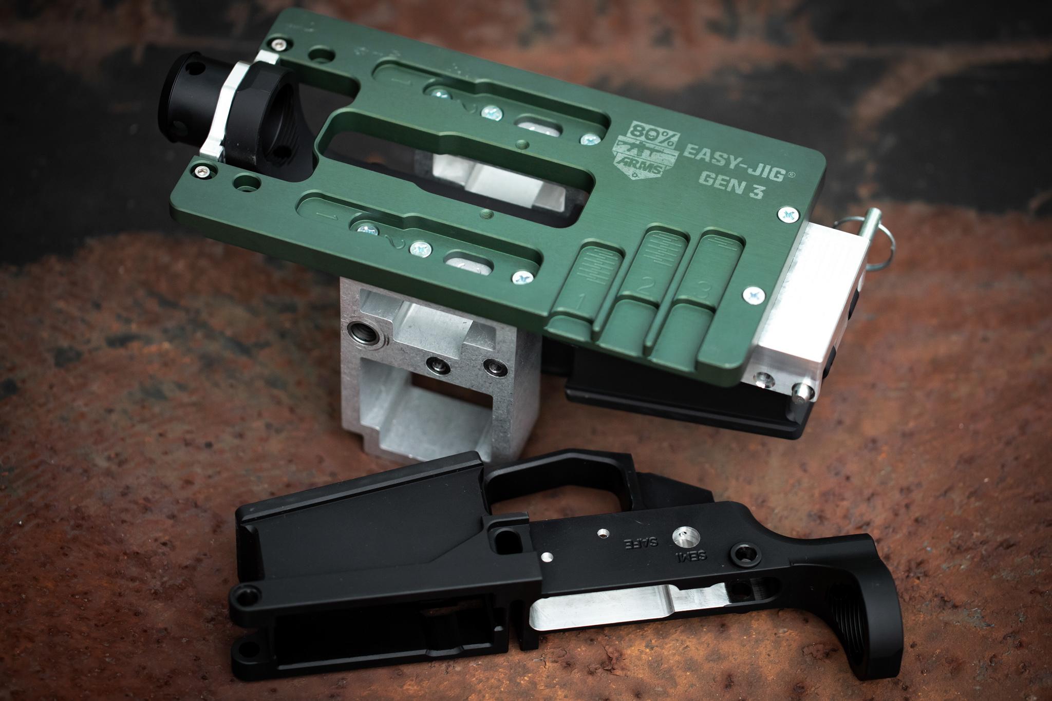 a jig to build a firearm