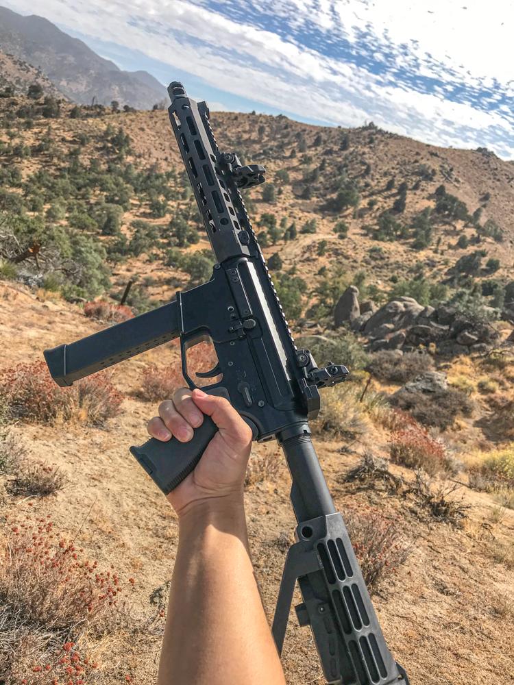 80% Arms AR-9 build w/ Glock 9mm stick mag